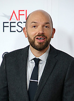 HOLLYWOOD, CA - NOVEMBER 12: Paul Scheer, at the AFI Fest 2017 Centerpiece Gala Presentation of The Disaster Artist on November 12, 2017 at the TCL Chinese Theatre in Hollywood, California. <br /> CAP/MPIFS<br /> &copy;MPIFS/Capital Pictures