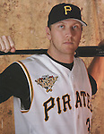Portrait of Jason Bay for 2006 MLBP ASG program inside page.