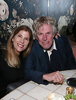 VENICE, CA - NOVEMBER 3: Gary Busey, Steffanie Sampson, at the Joely Fisher 50th Birthday Party at Wabi-Sabi In Venice, California on November 3, 2017. <br /> CAP/MPI/FS<br /> &copy;FS/MPI/Capital Pictures