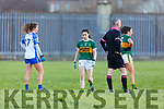 No 5 Sophie Lynch against Waterford in the LGFA National football league in Strand Road on Saturday.