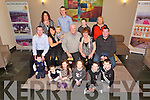 Rose and Eddie Cronin, Gallowsfield celebrates their 40th Wedding Anniversary at Ballyroe Heights Hotel on Sunday pictured  Cian, Kira, Sophie and  Emma  Cronin, Ronan, Ethan, Ballard Keith Cronin, Vyonne Ballard, Kaylan Ballard, Eddie Cronin, Rose Cronin, Trevor, Sharon, Kyle, Adam, Liz Cronin