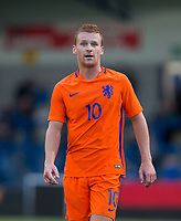 Dani De Wit (Jong Ajax) of Netherlands during the International friendly match between England U20 and Netherlands U20 at New Bucks Head, Telford, England on 31 August 2017. Photo by Andy Rowland.