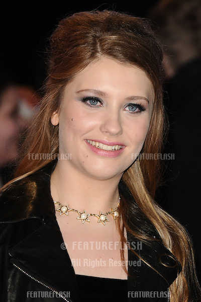 "Ella Henderson arriving for the ""The Twilight Saga: Breaking Dawn Part 2"" premiere at the Odeon Leicester Square, London. 14/11/2012 Picture by: Steve Vas / Featureflash"