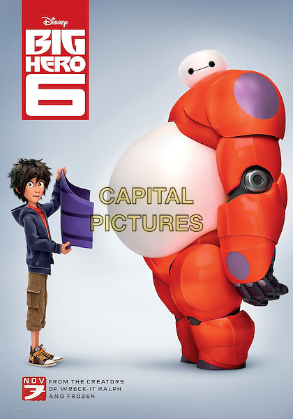 POSTER ART<br /> in Big Hero 6 (2014) <br /> *Filmstill - Editorial Use Only*<br /> CAP/FB<br /> Image supplied by Capital Pictures