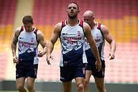 Rugby League World Cup. Luke Gale during England captain's run. Brisbane, Australia. 28 Nov 2017. Copyright photo: Patrick Hamilton / www.photosport.nz MANDATORY CREDIT/BYLINE : Patrick Hamilton/SWpix.com/PhotosportNZ