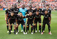 Washington, DC - June 21, 2017: D.C. United defeated Atlanta United 2-1 during their Major League Soccer (MLS) match at RFK Stadium.