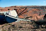 USA, Arizona, Page, the Glen Canyon Dam, Glen Canyon Recreation Area, Colorado River