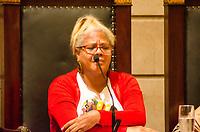 RIO DE JANEIRO, RJ, 14.06.2018 - MARIELLE FRANCO - Mônica Cunha ativista da Rede de mães contra a violencia do Estado, esteve presente no dia em que o assassinato da Vereadora Marielle Franco completa três meses aconteceu na Camara Municipal do Rio de Janeiro o lançamento do Relatório da Comissão da Mulher, que foi presidido por Marielle por um ano e três meses, Cinelândia, Rio de Janeiro, Nesta quinta-feira, 14 (Foto: Vanessa Ataliba/Brazil Photo Press)