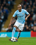 Manchester City's Fernandinho in action during the Champions League Quarter Final 2nd Leg match at the Etihad Stadium, Manchester. Picture date: 10th April 2018. Picture credit should read: David Klein/Sportimage
