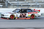 Xfinity Series driver Brad Keselowski (22) in action during the Nascar's NXS O'Reilly Auto Parts Challenge at Texas Motor Speedway in Fort Worth,Texas.