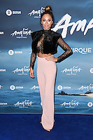 Katya Jones<br /> at the Cirque du Soleil &quot;Amaluna&quot; 1st night, Royal Albert Hall, Knightsbridge, London.<br /> <br /> <br /> &copy;Ash Knotek  D3218  12/01/2017