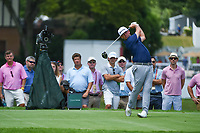 Chez Reavie (USA) watches his tee shot on 4 during round 2 of the 2019 Tour Championship, East Lake Golf Course, Atlanta, Georgia, USA. 8/23/2019.<br /> Picture Ken Murray / Golffile.ie<br /> <br /> All photo usage must carry mandatory copyright credit (© Golffile | Ken Murray)