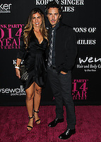 SANTA MONICA, CA, USA - OCTOBER 18: Serena Levy, Shawn Levy arrive at Elyse Walker's 10th Annual Pink Party held at Santa Monica Airport HANGAR:8 on October 18, 2014 in Santa Monica, California, United States. (Photo by Celebrity Monitor)