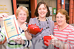 Here's to Tea Dances: Bridget McCarthy (Lixnaw Active Retirement Group) Julie Ahern (Duagh Family Centre) with Elaine Kennedy of North and East Kerry Development Older Persons Network who have their first Tea Dance in Duagh this Sunday afternoon.
