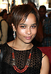 Zoe Kravitz.attending the opening night of the Broadway limited engagement of 'Fela!' at the Al Hirschfeld Theatre on July 12, 2012 in New York City.