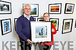 Steve Baker and Edel Codd members of the Ardfert camera club as they open their photo exhibition in the County Library in Tralee on Tuesday