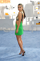 Emily Ratajkowski at the 2015 MTV Movie Awards at the Nokia Theatre LA Live.<br /> April 12, 2015  Los Angeles, CA<br /> Picture: Paul Smith / Featureflash