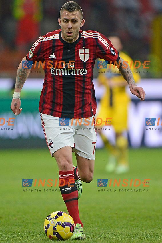Jeremy Menez Milan<br /> Milano 01-02-2015 Stadio Giuseppe Meazza - Football Calcio Serie A Milan - Parma. Foto Giuseppe Celeste / Insidefoto