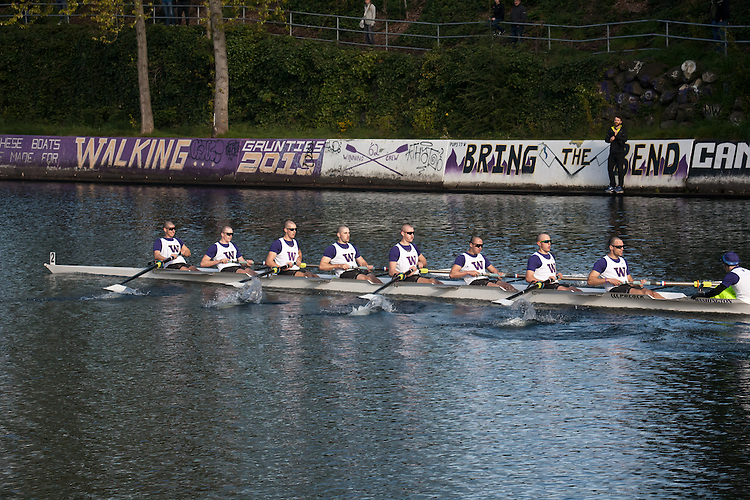 Rowing, Seattle, The Husky Open, April 4, 2015, Montlake Cut, University of Washington Mens eight, College M Open 8, crew, Washington State, Pacific Northwest,