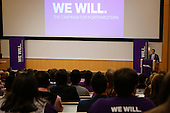Northwestern's We Will Campaign kick-off at Lurie in Chicago, IL on Friday, March 14th, 2014. Photo by Jasmin Shah.