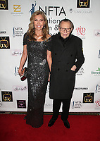 LOS ANGELES, CA - DECEMBER 5: Shawn King, Larry King, at The National Film and Television Awards at The Globe Theater in Los Angeles, California on December 5, 2018. <br /> CAP/MPI/FS<br /> &copy;FS/MPI/Capital Pictures