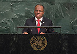 72 General Debate – 22 September <br /> <br /> His Excellency Allen Michael Chastanet,  4Prime Minister of Saint Lucia