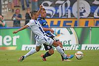 Denis Epstein (FSV) gegen Grischa Prömel (KSC)- FSV Frankfurt vs. Karlsruher SC, Frankfurter Volksbank Stadion