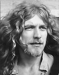 Led Zeppelin  1970 Robert Plant at Bath Festival....