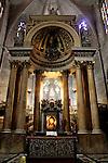 Barcelona.<br /> Basilica dels Sants Martirs Just i Pastor.<br /> Barri Gotic - Ciutat Vella.