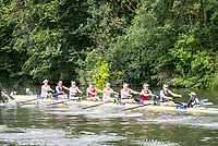 Henley Royal Regatta, Henley on Thames, Oxfordshire, 28 June - 2 July 2017.  Friday  11:21:24   30/06/2017  [Mandatory Credit/Intersport Images]<br /> <br /> Rowing, Henley Reach, Henley Royal Regatta.<br /> <br /> The Remenham Challenge Cup<br />   Leander Club and University of London
