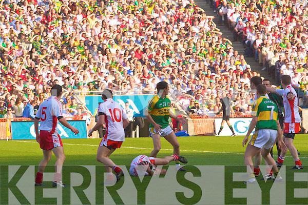 Kerry v Tyrone All ireland Final 2008 at Croke Park Dublin 21st September 2008.