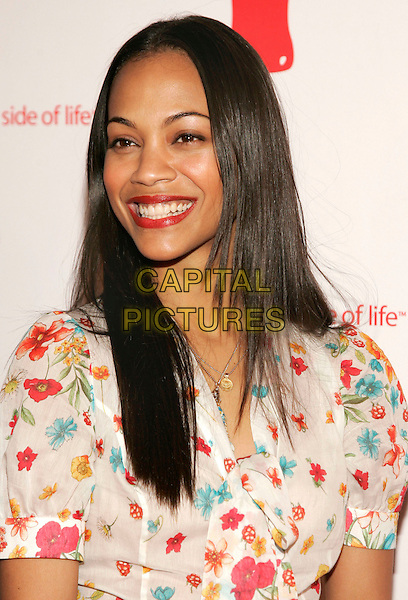 "ZOE SALDANA.at Coca-Cola's ""Coke Side Of Life"" Launch Party with a Performance by Ne-Yo at Capitale, New York, NY, USA,.30 March 2006..portrait headshot  .Ref: ADM/JL.www.capitalpictures.com.sales@capitalpictures.com.©AdMedia/Capital Pictures."