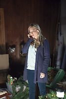 The March Sisters at Christmas (2012)<br /> Kaitlin Doubleday<br /> *Filmstill - Editorial Use Only*<br /> CAP/KFS<br /> Image supplied by Capital Pictures
