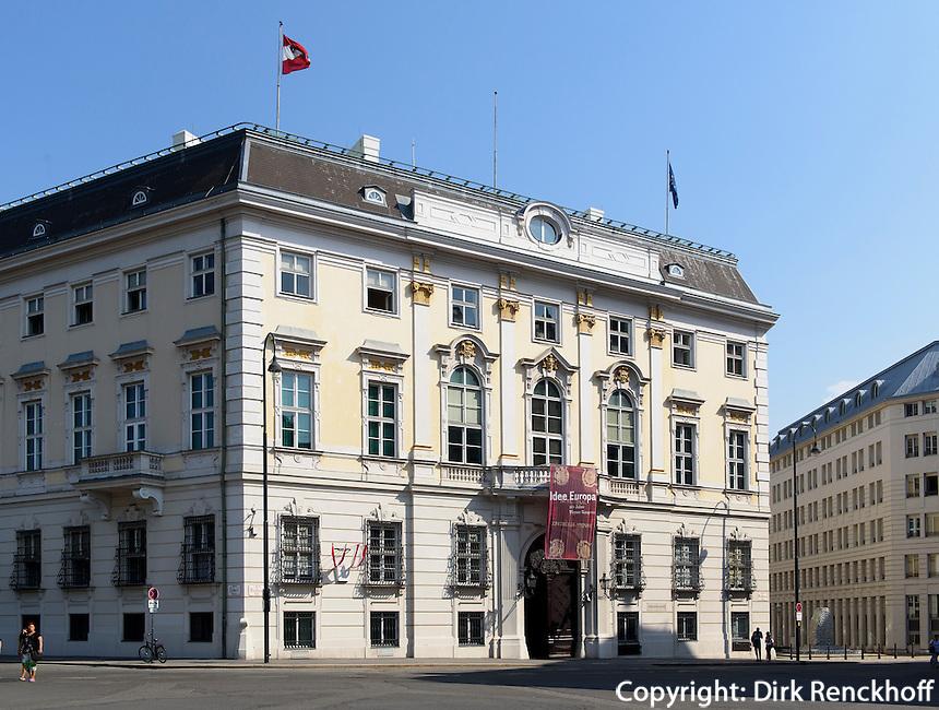 Bundeskanzleramt am Ballhausplatz, Wien, &Ouml;sterreich<br /> Office of the Federal Chancellor, Vienna, Austria