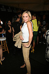 The Real Housewives of New York's Sonja Morgan Backstage at Zang Toi Spring 2014 Fashion Show Held During Mercedes Benz Fashion Week NY