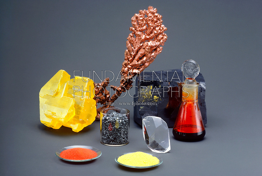 ELEMENTS - METALS AND NONMETALS<br />