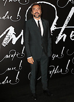 www.acepixs.com<br /> <br /> September 13, 2017 New York City<br /> <br /> Javier Bardem attending the premiere of 'Mother!' at Radio City Music Hall on September 13, 2017 in New York City.<br /> <br /> By Line: Nancy Rivera/ACE Pictures<br /> <br /> <br /> ACE Pictures Inc<br /> Tel: 6467670430<br /> Email: info@acepixs.com<br /> www.acepixs.com