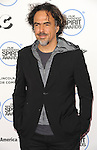 Alejandro Gonzalez Inarritu arriving at the 30th Film Independent Spirit Awards 2015 held at Santa Monica Beach CA. February 21, 2015
