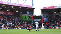 29th February 2020; Vitality Stadium, Bournemouth, Dorset, England; English Premier League Football, Bournemouth Athletic versus Chelsea; Bournemouth players welcome the full time whistle and a 2-2 draw