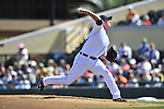 5 March 2009: Detroit Tigers' pitcher Zach Miner on the mound during a Spring Training game against the Washington Nationals at Joker Marchant Stadium in Lakeland, Florida. The Tigers defeated the visiting Nationals 10-2 in the Grapefruit League matchup. Mandatory Photo Credit: Ed Wolfstein Photo