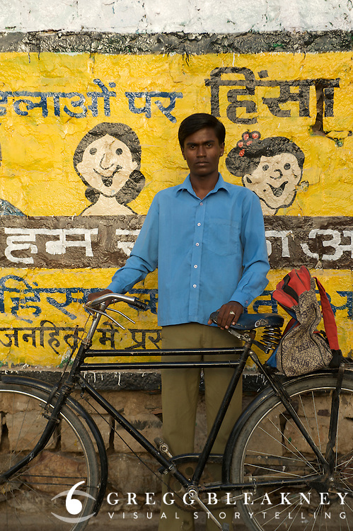 Schoolboy - Barmer, India