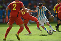 (R-L) Lionel Messi (ARG), Axel Witsel (BEL),<br /> JULY 5, 2014 - Football / Soccer :<br /> FIFA World Cup Brazil 2014 Quarter-finals match between Argentina 1-0 Belgium at Estadio Nacional in Brasilia, Brazil. (Photo by FAR EAST PRESS/AFLO)