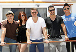 Christopher Sean, Melissa Archer, Jeff Branson, Ryan Paevey, Sean Carrigan - Actors from Y&R, Days and General Hospital donated their time to Southwest Florida 16th Annual SOAPFEST and during the weekend took a break to chill on one of the boats to see dolphins and to swim off Marco Island, Florida on May 23, 2015 - a celebrity weekend May 22 thru May 25, 2015 benefitting the Arts for Kids and children with special needs and ITC - Island Theatre Co.  (Photos by Sue Coflin/Max Photos)