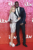 Gaby Allen and Marcel Sommerville<br /> at the ITV Gala 2017 held at the London Palladium, London<br /> <br /> <br /> ©Ash Knotek  D3349  09/11/2017