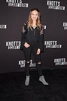 Alyssa Jirrels<br /> at Knott's Scary Farm and Instagram Celebrity Night, Knott's Berry Farm, Buena Park, CA 09-29-17<br /> David Edwards/Dailyceleb.com 818-249-4998