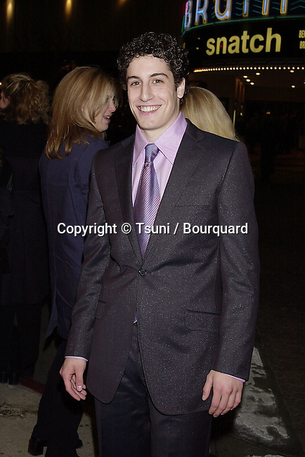 Feb 07, 2001; Arrival at the 1ere of &quot; Saving Silverman &quot; in Los Angeles<br /> Jason Biggs          -            Biggs.Jason.05.jpg