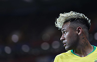 (180617) -- ROSTOV-ON-DON, June 17, 2018 -- Neymar of Brazil reacts during a group E match between Brazil and Switzerland at the 2018 FIFA World Cup WM Weltmeisterschaft Fussball in Rostov-on-Don, Russia, June 17, 2018. ) (SP)RUSSIA-ROSTOV-ON-DON-2018 WORLD CUP-GROUP E-BRAZIL VS SWITZERLAND LuxJinbo  <br /> Rostov on Don 17-06-2018 Football FIFA World Cup Russia  2018 <br /> Brazil - Switzerland / Brasile - Svizzera <br /> Foto Xinhua/Imago/Insidefoto