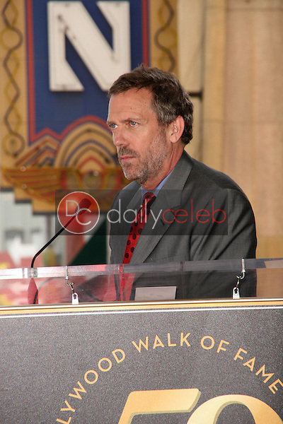 Hugh Laurie<br /> at the induction ceremony for Emma Thompson into the Hollywood Walk of Fame, Hollywood, CA. 08-06-10<br /> David Edwards/DailyCeleb.com 818-249-4998