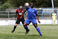 Calvin Poku of Redbridge during Redbridge vs Saffron Walden Town, Essex Senior League Football at Oakside Stadium on 4th August 2018
