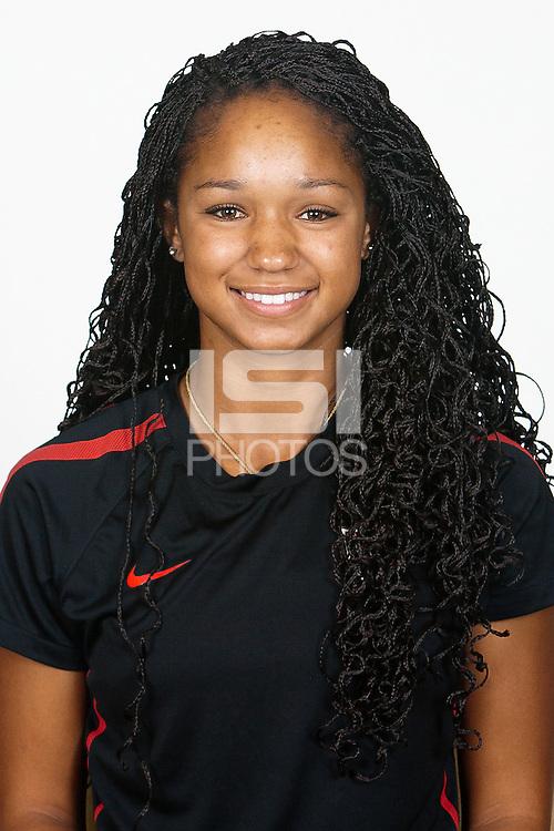 CARSON, California - Sunday August 19, 2012: .USA Women's National Team U-17 Portraits.